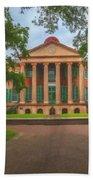 College Of Charleston Main Academic Building Beach Towel