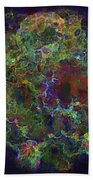Collision Of Worlds Beach Towel