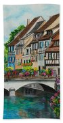 Colmar In Full Bloom Beach Towel