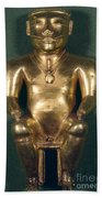 Colombia: Gold Figure Beach Towel