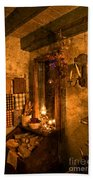 Colonial Kitchen Evening Beach Towel