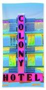 Colony Hotel Beach Towel