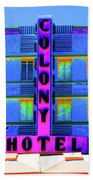 Colony Hotel Palm Beach Towel