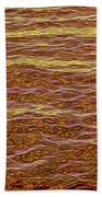 Color Abstract Beach Towel