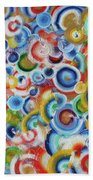 Color Circles 201810 Beach Towel