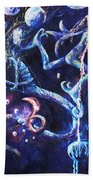 Color Creation Myth Beach Towel
