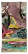 Color Fever 136 Beach Towel