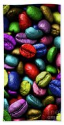 Color Full Coffe Beans Beach Towel
