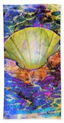 Color In Shell Beach Towel