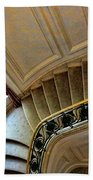 Color Interior Stairs  Beach Towel