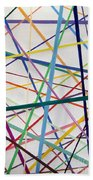 Color Lines Variety Beach Towel