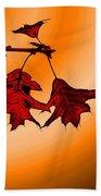 Color Me Autumn 3 Beach Towel
