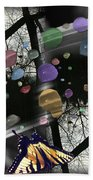 Color Reflections Beach Towel