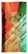 Color Stripes Beach Towel