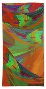 Color Swells Beach Towel