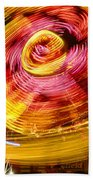 Color Twist Beach Towel