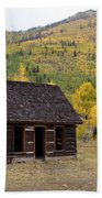 Colorado Cabin Beach Towel