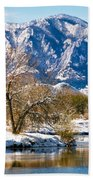Colorado Flatirons 2 Beach Towel