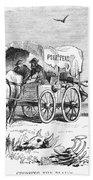 Colorado Gold Rush, 1859 Beach Towel
