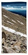 Colorado Mountain Goat Beach Towel