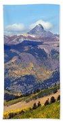 Colorado Mountains 1 Beach Sheet