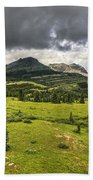 Colorado Mountains After Summer Rain Beach Towel