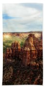 Colorado National Monument Beach Towel