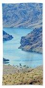 Colorado River Arizona Beach Towel