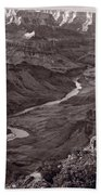 Colorado River At Desert View Grand Canyon Beach Towel