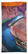 Colorado River Bend Beach Towel