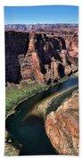 Colorado River Horseshoe Bend  Beach Towel