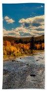 Colorado River In Autumn Beach Towel