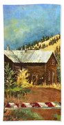Colorado Shed Beach Towel