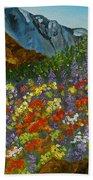 Colorado Wildflowers Beach Towel