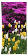 Colorful Spring Beach Towel