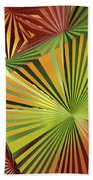 Colored Box Abstract Beach Towel