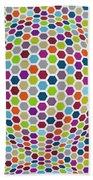 Colored Geometries Beach Towel