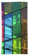 Colored Glass 10 Beach Towel