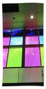 Colored Glass 8 Beach Towel