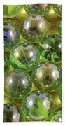 Colored Marbles Beach Sheet