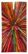 Colorful Abstract Photography Beach Towel