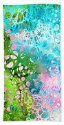 Colorful Art - Enchanting Spring - Sharon Cummings Beach Sheet