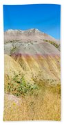 Colorful Badlands Of South Dakota Beach Towel
