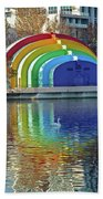 Colorful Bandshell Beach Towel