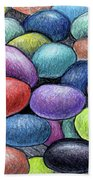 Colorful Beans Beach Towel