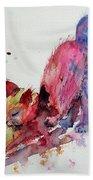 Colorful Cat Beach Towel