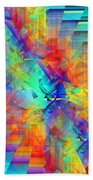 Colorful Crash 9 Beach Towel