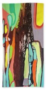 Colorful Earth Day Beach Towel
