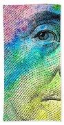 Colorful Franklin Beach Towel