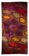 Colorful Galaxy Of Stars Beach Sheet